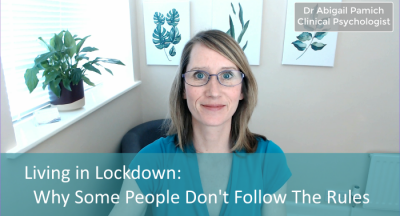 Living in Lockdown: Why Some People Don't Follow The Rules